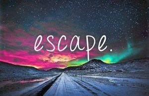 Escape and go look for a Dream. by Blubbermuffins