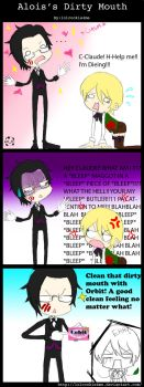 Alois's Dirty Mouth by lolcookie4me