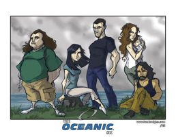 The Oceanic Six by Hodges-Art
