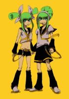 VOCALOID Ruka and Rua by TSUTAYA07