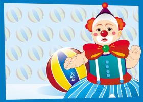 baby clown by jotapehq