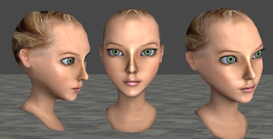 New Realistic Alice, wip 1 by tombraider4ever
