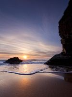 Rocky Bay Sun Halo by SewerRar