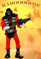 Demoman Spray by Meltharos