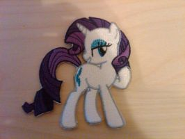Rarity Embroidered Patch by EthePony