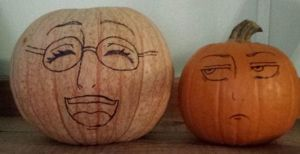 Attack On Titan Pumpkins! by RANDOM-drawer357