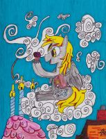 Derpy Hooves Lunch Time by Leonman-42