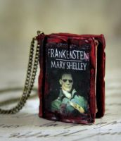 Mary Shelley Frankenstein by NeverlandJewelry
