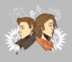 SPN tshirt Design (Vers. 1) by PotatoCrisp