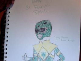 MMPR: TNG Happy St Patty's Day by Jred20