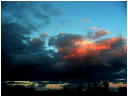 The Sky Exploded by johnedgar