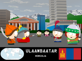 South Park Travelers - Ulaanbaatar by niels827