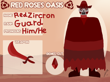 Red Zircron - Red Roses Oasis App by EnderSkyLord