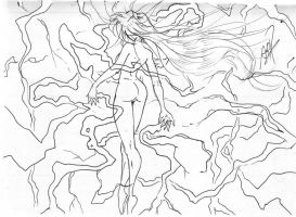 Lightning Lady (WIP) by andyprophet
