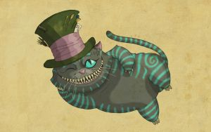A Cat with a Fancy New Hat by psykostudios