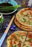 Scallion Pancake or Green Onion Bread (w/Recipe) by theresahelmer