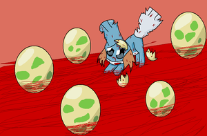 Escape from Bad EGG by samsemi