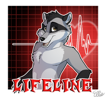 Lifeline Anthro Badge by WindWo1f