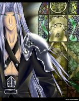 Final Fantasy VII AC Sephiroth by powerswithin