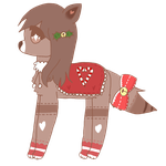 christmas dog auction adopt { OPEN } by tiredcats