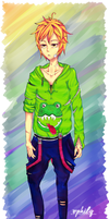 '' Froggy '' : The Frog Man. by ophily
