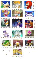 Sonic-Pokemon Teams by AmazingSuperiority