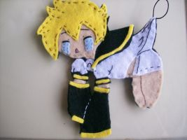 Kagamine Len Felt Child by Beca1591