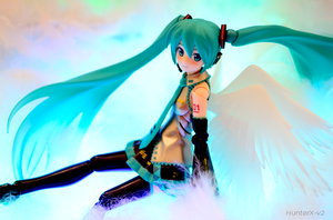 Angel Miku by HunterX-v2