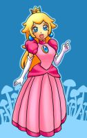 Princess Peach by Duivelsdraak