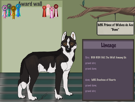 CH M!K Prince of Wolves de Ace by swankie