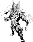 The Mighty Thor by alfret