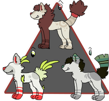 Contest Designs by FluffCow