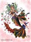 Contest Entry- Salmon Mermaid by Skeptica
