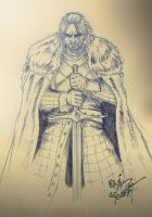 Eddard Stark - Lord of Winterfell by Massimo-Weigert