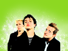 green day wallpaper by saint-punky