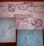 Pen Doodles by BlueWaterRose