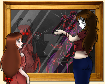 Creepypasta: The Other Side of the Mirror by darkangel6021