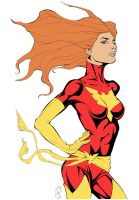 Dark Phoenix Couleurs de Base by Spidertof
