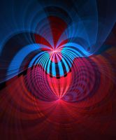 Blue+Red-stock by FractalAngel-Stock