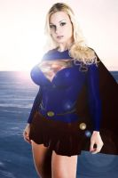 Jenny Poussin as Supergirl (updated) by firebird106