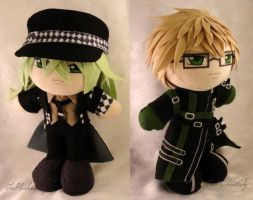 Commission, Plushie Amnesia Duo by ThePlushieLady