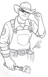 TF2 - Here Have an Engineer by RavenScarlett
