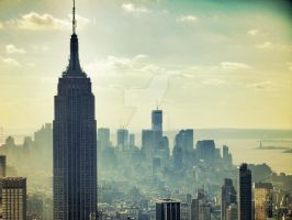 New York Skyline (2nd) by bjornothebest