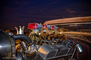 Hot Rod Engine by AmericanMuscle
