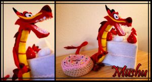+ The Indestructable Mushu + by hiyoko-chan