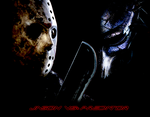 Jason Vs. The Predator by FearOfTheBlackWolf