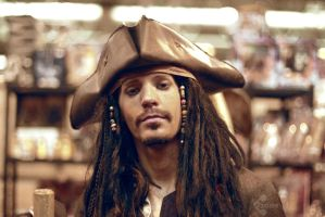 Jack Sparrow - Pirates of the Caribbean cosplay by Ozone-O3