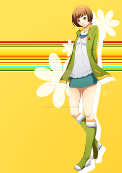 : Commisson : Chie : by TaylorGraceArt