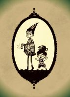 Over the Garden Wall by Goose-of-Stature