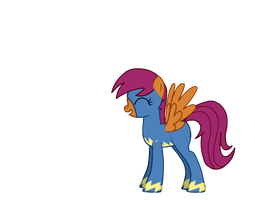 Scootaloo, The Wonderbolt. by PoniesInHats